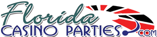 Florida Casino Parties Logo (c) 2003.